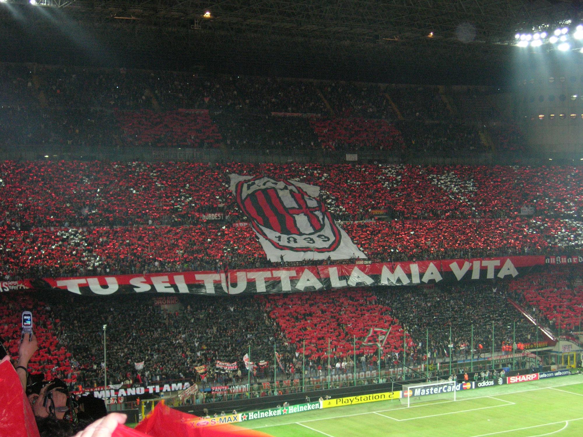 Kibice AC Milan potrafią być wyjątkowi – śpiewali You'll Never Walk Alone