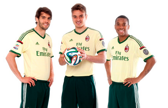 Wyjazdowe koszulki Milanu