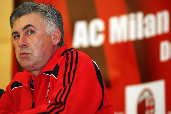 Ancelotti ucina plotki o powrocie do AC Milan