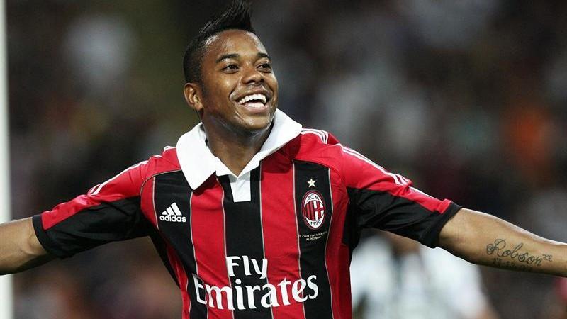 Robinho myśli o opuszczeniu Milanu