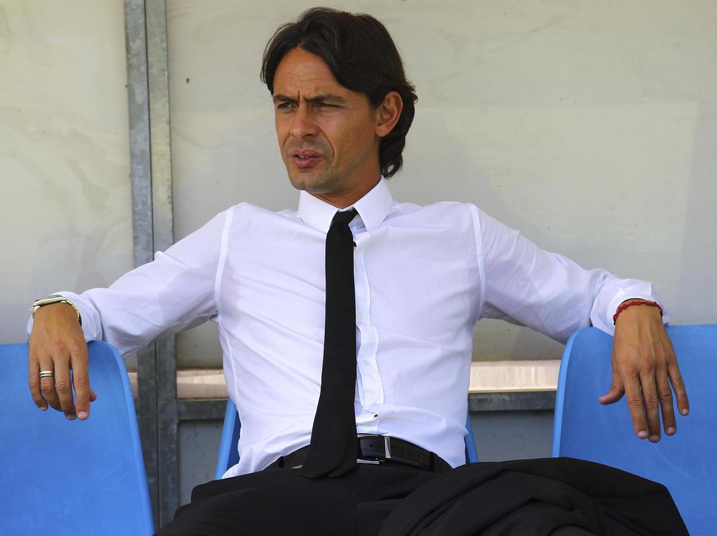 Filippo Inzaghi po porażce z Valencią